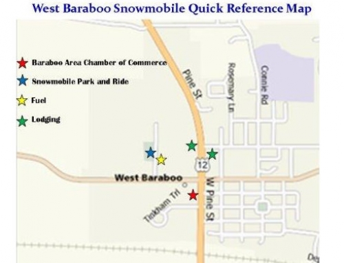 West Baraboo Reference Map