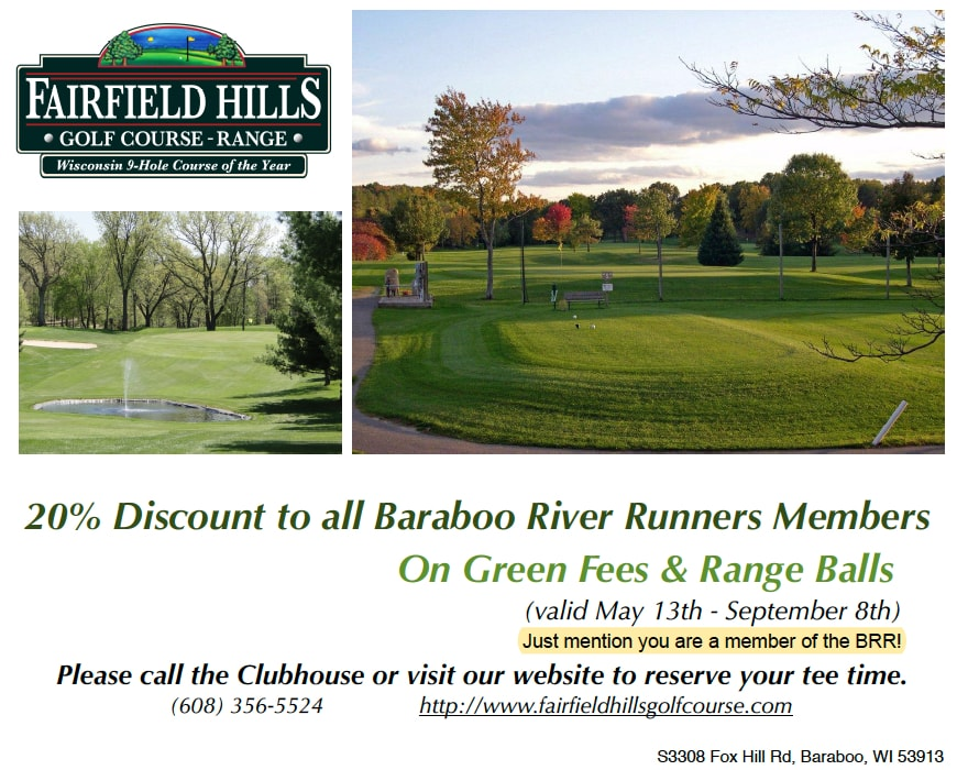 Fairfield Hills Golf Discount