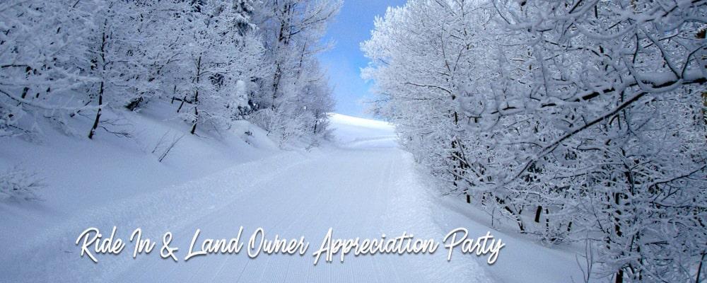 Ride In Landowner Appreciation Party