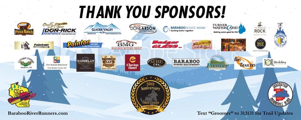 2020 Snowmobile Club Sponsors